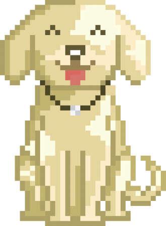 pixel dog Banco de Imagens - 79145185