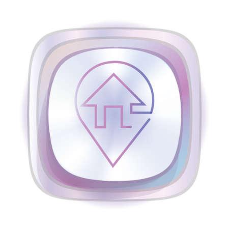 locatie concept Stock Illustratie