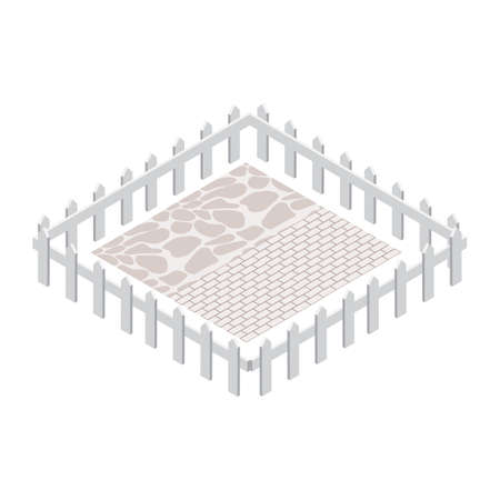 fenced compound