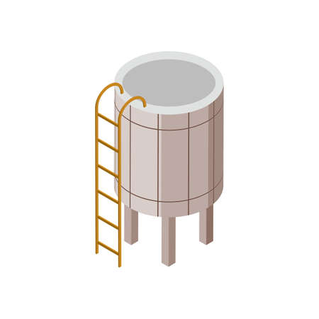 water tank Illustration