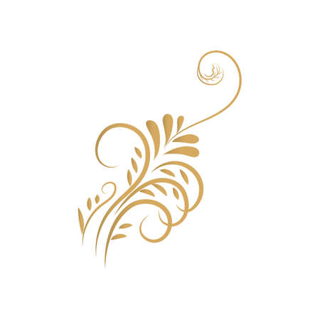 floral motif design Stock Vector - 79218387