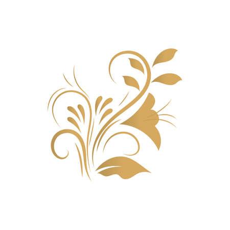 squiggle: floral motif design