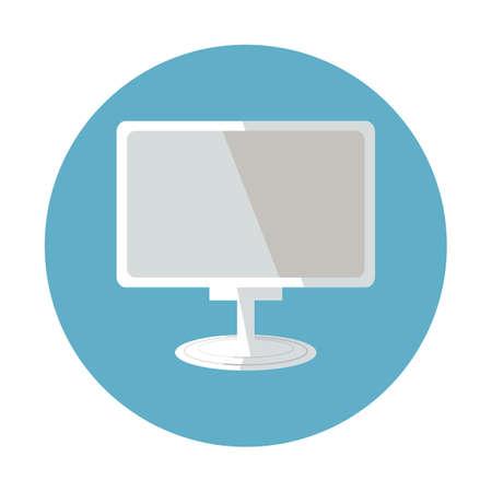 computer monitor 向量圖像