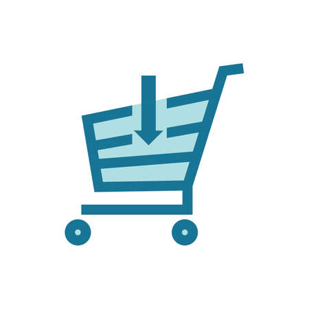 shopping cart Ilustrace