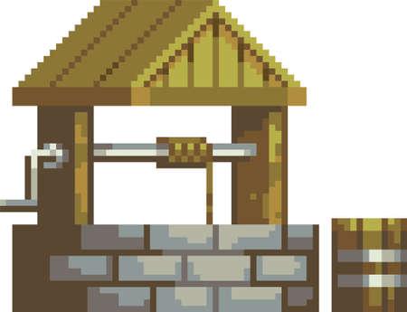pixel water well