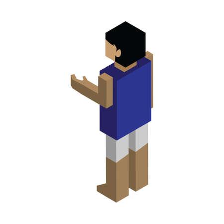 male avatar Illustration