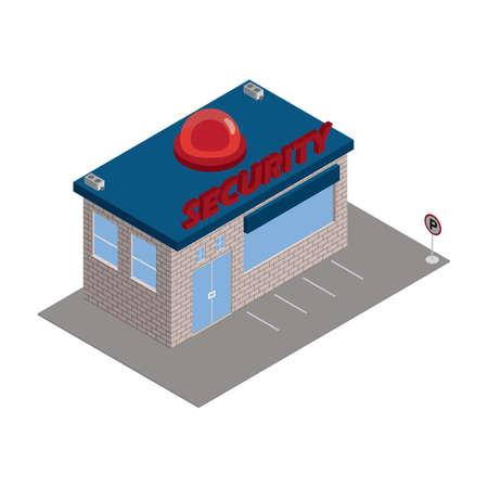 security building