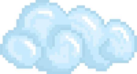 pixel clouds