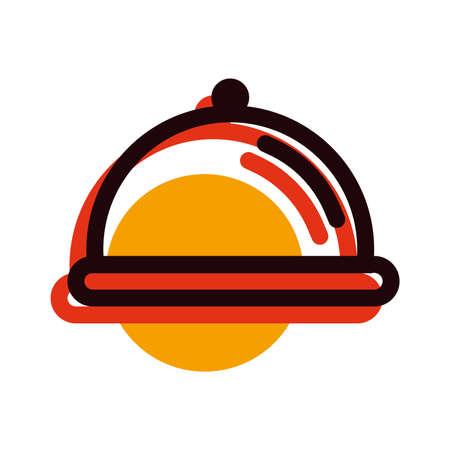 dish cover Illustration