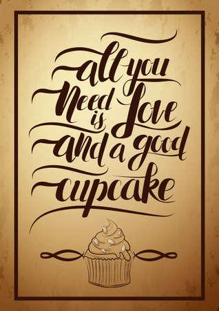 Cupcake concept ontwerp
