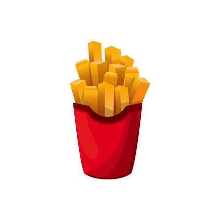 french fries 向量圖像