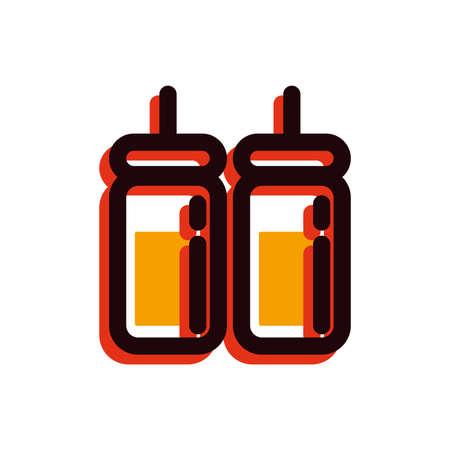 ソース ボトル