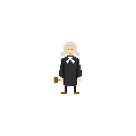 pixel art judge