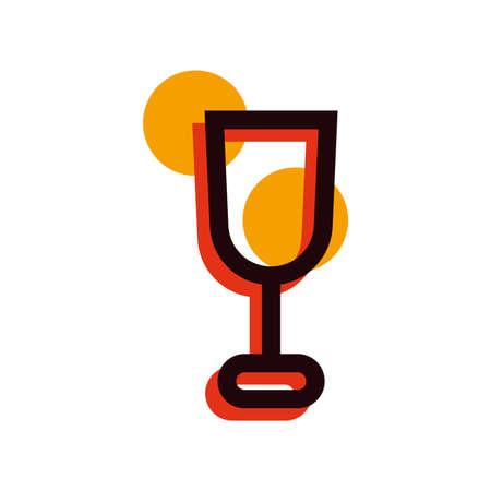 Verre de vin Banque d'images - 79261092