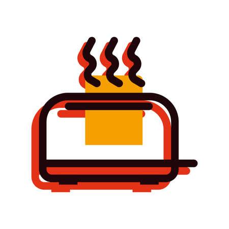 toaster Stock Illustratie