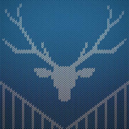 reindeer background design