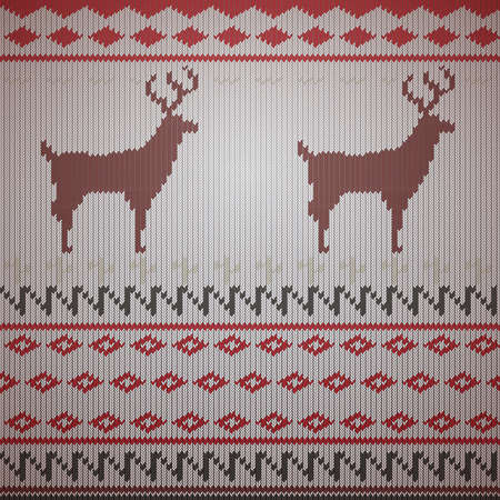 reindeer background design