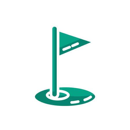 golf pin flag