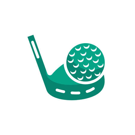 golf club with ball Imagens - 79261203
