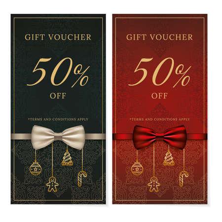 gift voucher design Illustration
