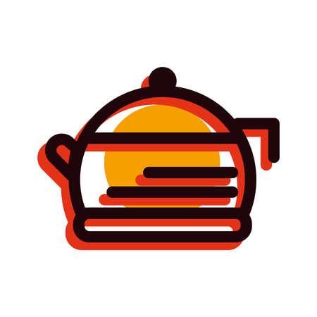 teapot Ilustrace