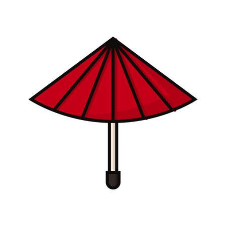 기름 종이 우산