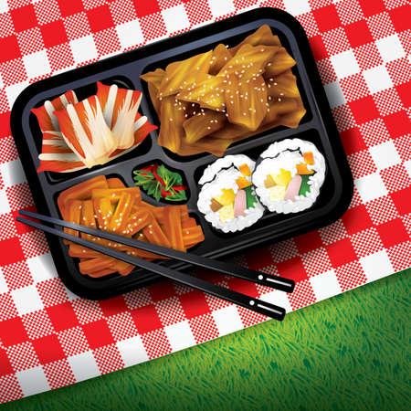 Koreaanse rijstdoos