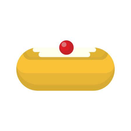 jelly donut Иллюстрация