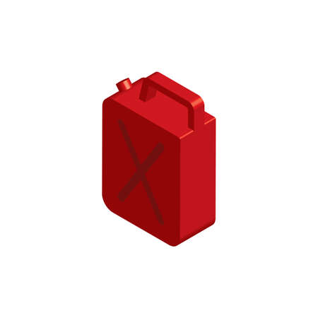 gasoline container Illustration