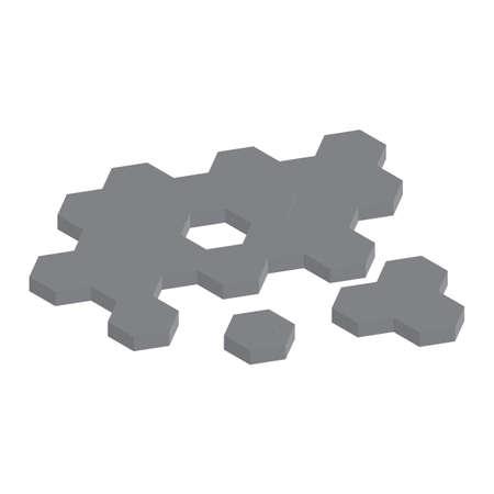 hexagon floor