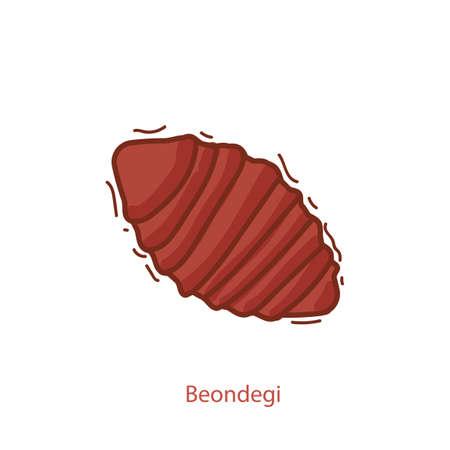 beondegi Illustration