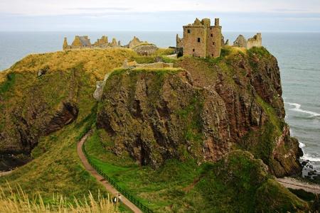 Dunnotar Castle , Scotland Stock Photo