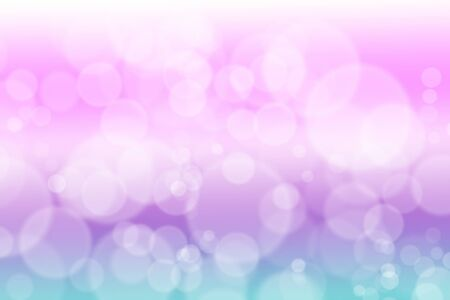 dreamy: Soft and dreamy bokeh texture , pink and purple Stock Photo