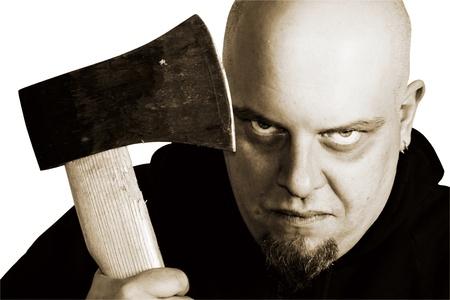 serial: Scary gaze from serial killer