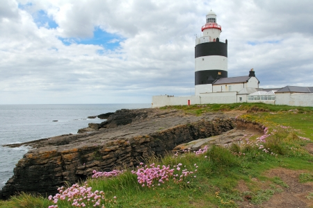 Irish lighthouse of Hook Head . Ireland photo