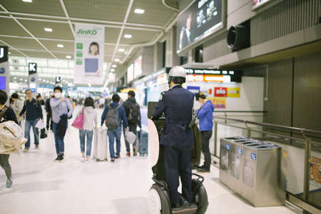 airport security: Narita Airport Security