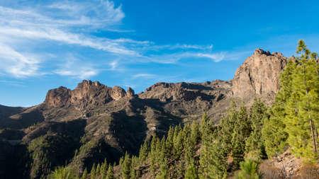 Mountains of Canary Islands, Barranco de Soria, Spain
