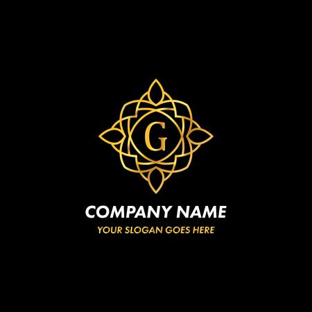 Monogram Letter G Logo Concept
