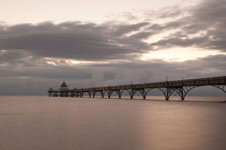 Clevedon Pier Stock Photo