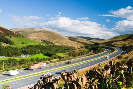 Highway in Yorkshire Dales National Park Stock Photo - 8045506