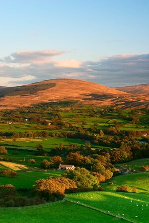 Sedbergh - small town in Yorshire Dales National Park Banque d'images