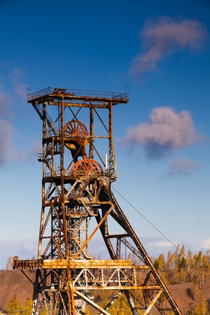 coking: Old industry-Coal Mine Stock Photo