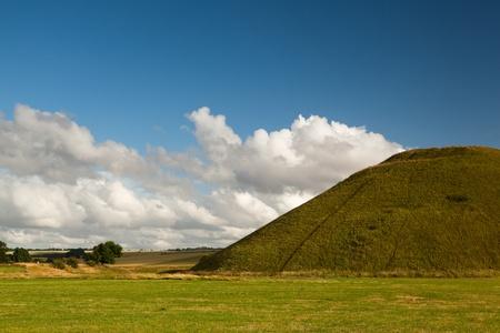 Silbury Hill in Great Britain photo