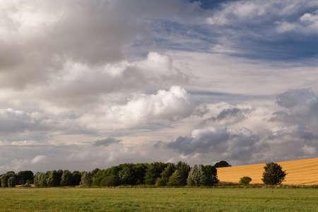 Landscape near Avebury photo