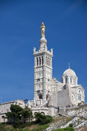 Cathedral Notre Dame de la garde in Marseille, France