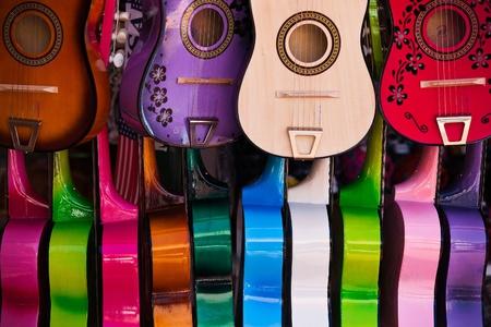Set acoustic guitars