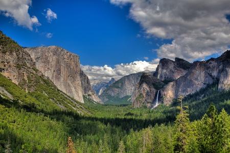 The sunset in Yosemite National Park, California