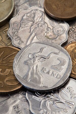 The details of South African coins photo