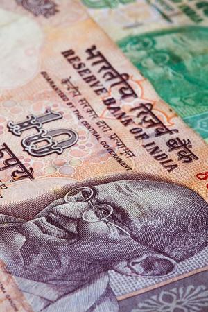 moola: Banknotes - Rupees bills of India Stock Photo