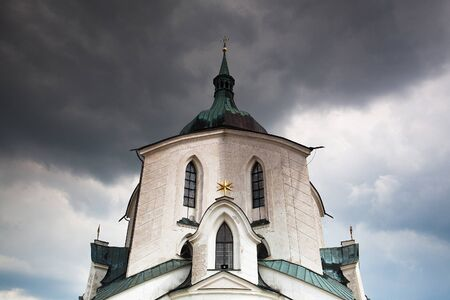 The pilgrimage church zelena hora - green hill - Monument UNESCO photo